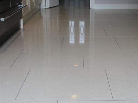 how to clean porcelain bathroom floor tiles