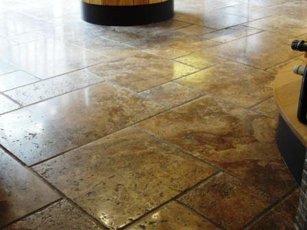Stone Floor After