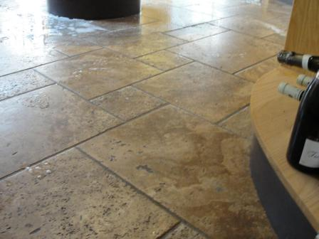 Stone Floor Before