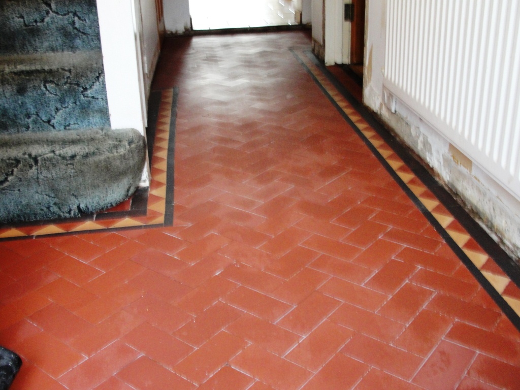 Terracotta Tiled Floor Restoration In Chingford South
