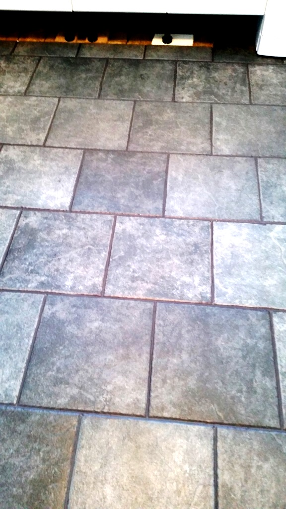 Ceramic tiles after cleaning and colouring in canvey island
