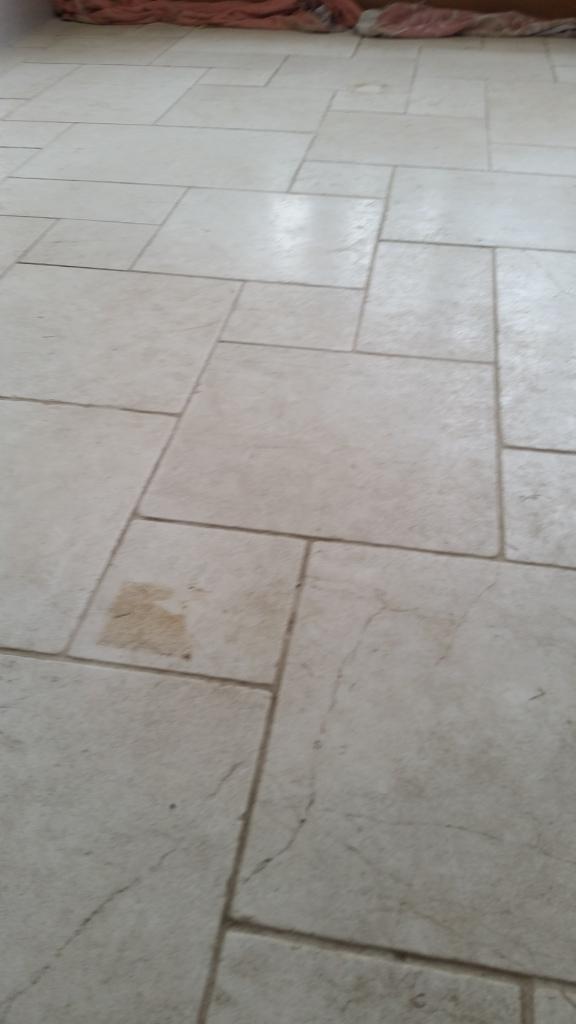 How to clean limestone floor tiles